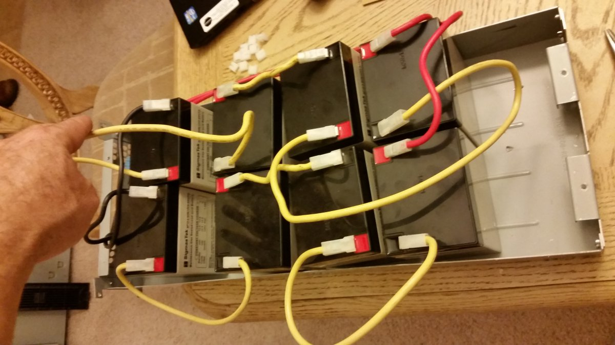 Ot  Wiring Diagram For Apc Ups Battery   Rbc33